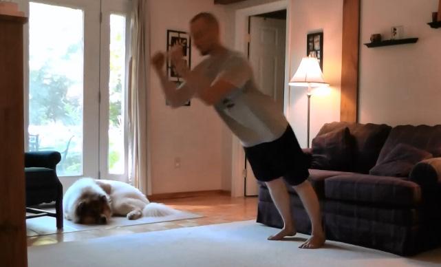 The Ballistic Plank Exercise