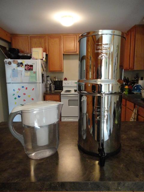 britta water filter vs berkey water filter
