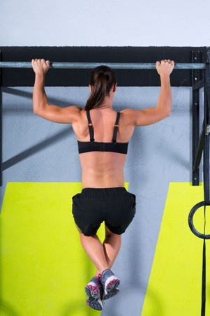 how many pull ups can the average woman do