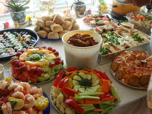 party food for the holidays