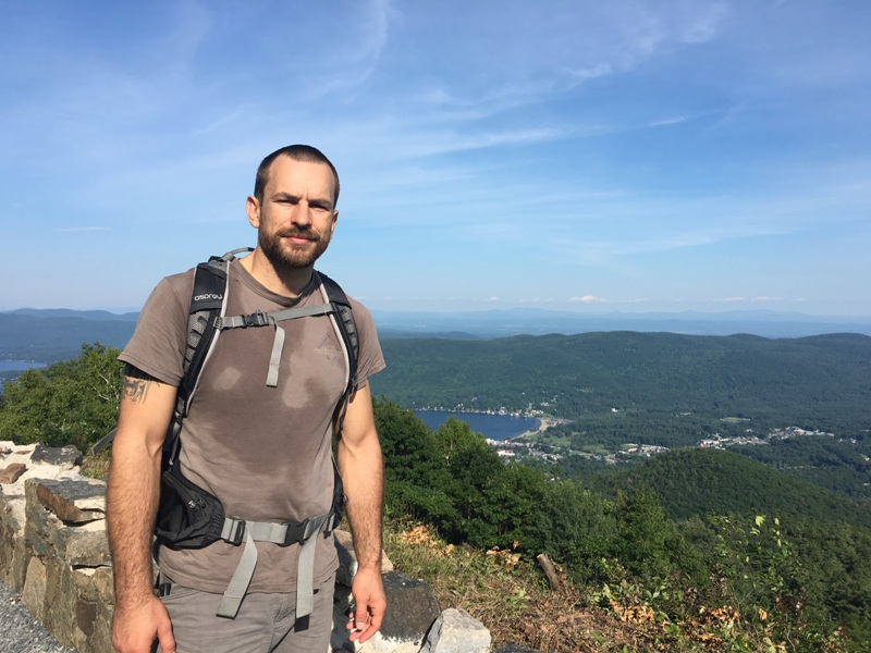 greg mihovich hiking