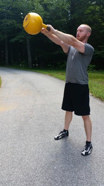 john sifferman - two handed kettlebell swing