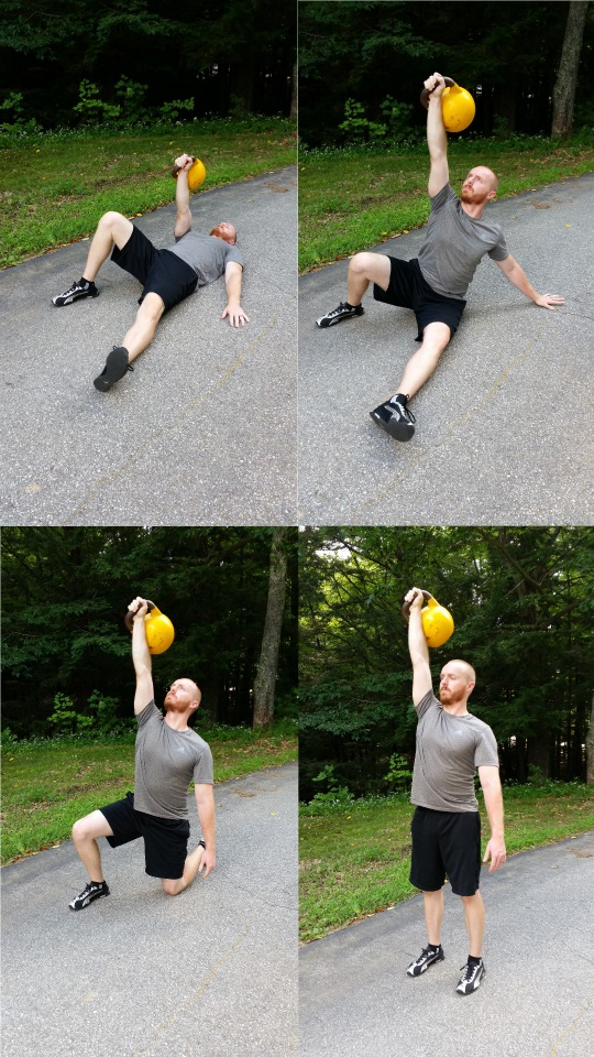 John Sifferman - Turkish Get-up with Kettlebell