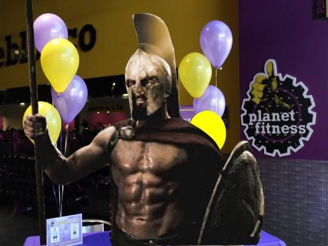 Leonidas at Planet Fitness