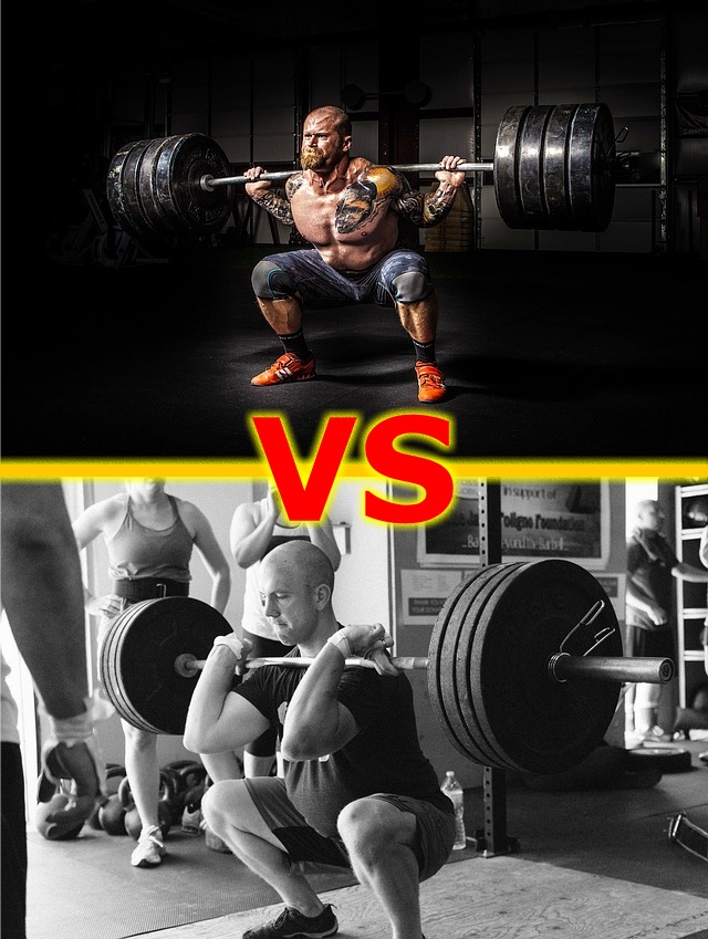 lifting weights vs weightlifting