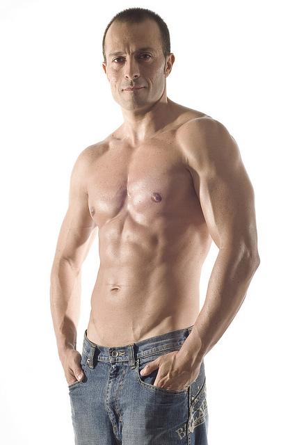 male - lean