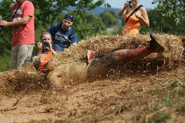 male obstacle course racing