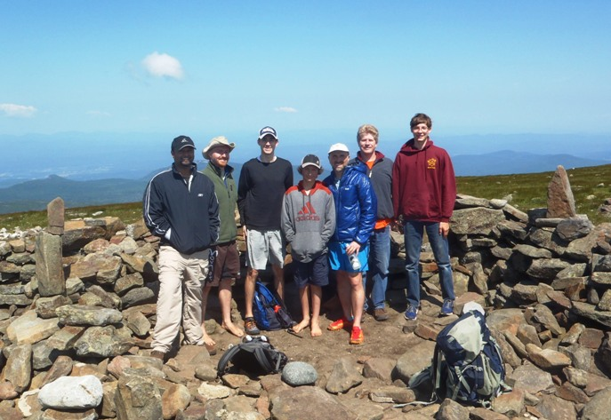 mt moosilauke hike group photo