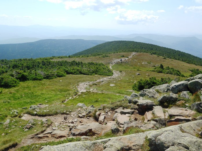view from atop mt moosilauke