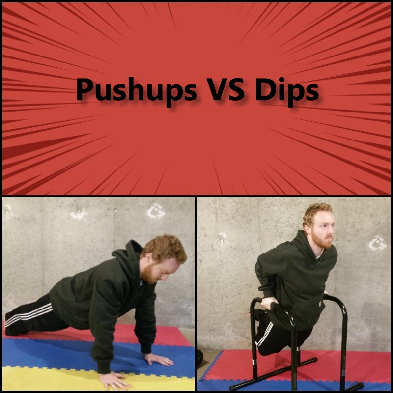 pushups vs dips