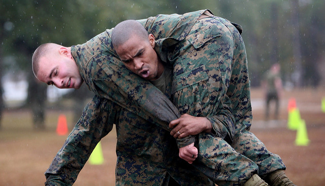 marines - buddy carry